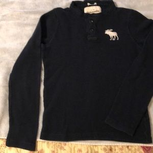 Abercrombie long sleeved thermal shirt
